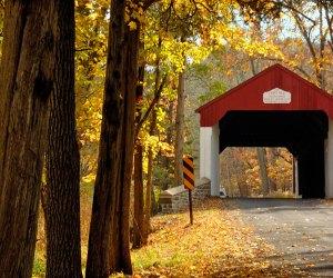 Bucks County is a beautiful fall getaway destination