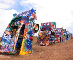Cadillac Ranch near Amarillo.