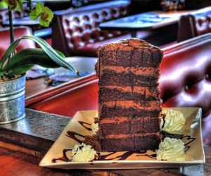 Over the Top LA Desserts to Treat (and Wow) Kids: Mile High Chocolate Cake at Paradise Cove
