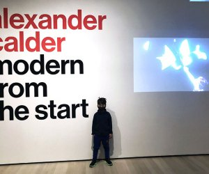 MoMA's new Calder exhibit explores some of the artist's earlier pieces.