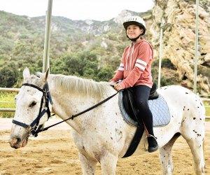 Traditional Outdoor Summer Camps for LA Kids: horseback riding camp cali