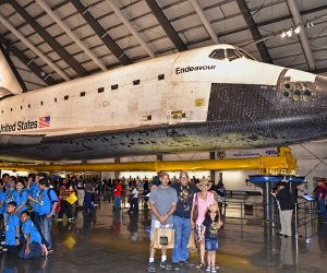 Space Shuttle Endeavour on display at the California Science Center. Photo by Tomás Del Coro /Flickr