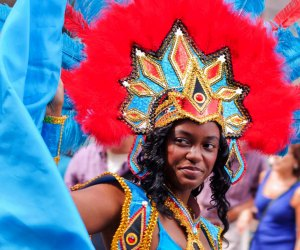 Be part of the grand costume parade and masquerade through the streets of Cambridge, dancing to an international beat. Photo courtesy of @paulsportraits