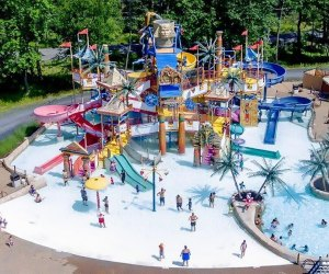 Camelbeach Mountain Waterpark is an expansive outdoor water park in the Poconos. Photo courtesy of the resort