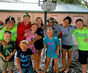 Campers get outdoors and activity at Camp Quillian. Photo courtesy of Camp Quillian