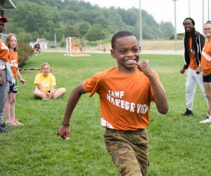Developing leadership skills is a big focus at Harbor View. Photo courtesy of the camp