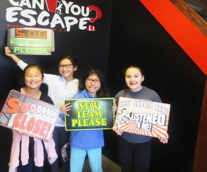 Treat your kids to an afternoon at Can You Escape? LI, which has has locations in Mineola, Long Beach, and Hicksville. Photo courtesy of Can You Escape?