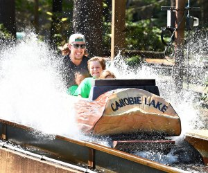 The Log Flume is one of more than three dozen attractions opening this season at Canobie Lake Park. Photo courtesy of the park