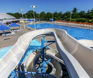 Cantigue Park water slide