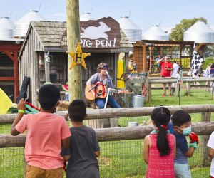 Cap off the summer with a sweet watermelon festival at Harbes Family Farm. Photo courtesy of the farm