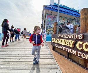 Cruise the boardwalk to enjoy all the Jersey Shore has to offer. Photo by Rose Gordon Sala