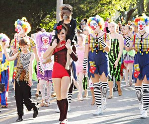 Dress in your Halloween best and head to the beach for the Cape May Halloween Parade on Sunday. Photo courtesy of the event