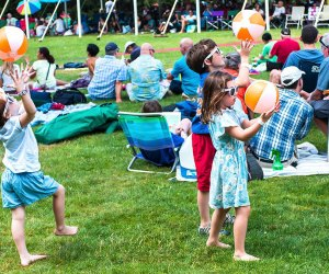Enjoy music in a beautiful setting at the Caramoor Jazz Festival. Photo by Gabe Palacio for Caramoor