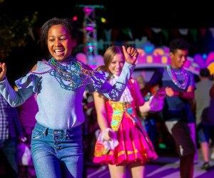 Experience the Spectacle of Color Parade at Grand Carnivale, Carowinds' newest celebration. Photo courtesy of Carowinds.