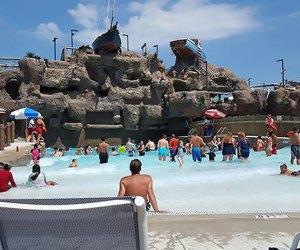 Casino Pier water park's wave pool