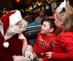 Hop aboard the Catskill Mountain Railroad's Polar Express this weekend. Photo courtesy of the railway