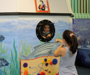 The Monmouth Museum is home to two kid-specific wings. The Wonder Wing, pictured, caters to kids ages 6 and younger with fun, interaction play spaces.