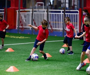 Chelsea Piers offers soccer classes for toddlers through teens