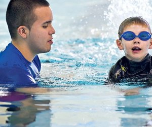 "Stroke ""discovery"" classes are part of the progression-based swim program at Chelsea Piers."