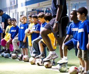Ages 3 and up can enjoy sports-focused camps at Chelsea Piers. Photo courtesy the camp