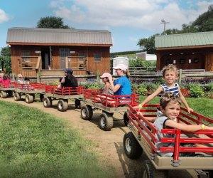 A visit to Cherry Crest Adventure Farm. Photo courtesy of Luis Roa