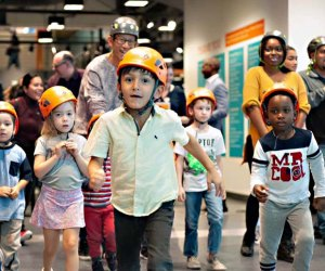 Set the kids loose on Cloud Buster for climbing fun at the Chicago Children's Museum. Photo courtesy of the museum