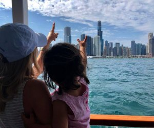 Spectacular city views  of the Chicago Skyline in River North. Photo courtesy of Wendella Boat Tours.