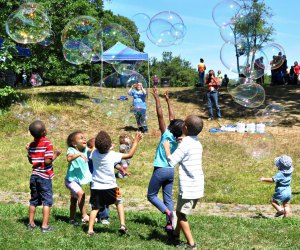 Boston's annual Children's Festival at Franklin Park. Photo courtesy of Boston Parks and Recreation