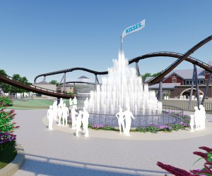 The Hershey Kisses Fountain will leave you feeling sweet.