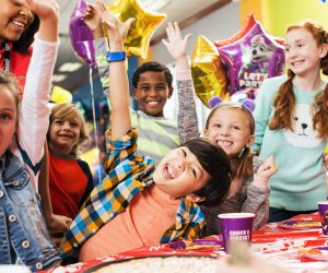Chuck E. Cheese birthday parties are always a hit.  Kids can get FREE game tokens on their special day. Photo courtesy of Chuck E. Cheese