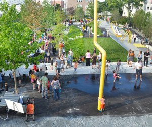 Boston-Area Playgrounds Worthy of Getting in the Car: Chuckie Harris Park