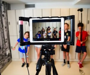With CinemaKidz, kids learn the fundamentals of storytelling, cinematography, editing, and other media arts.