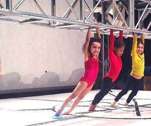 At Streb's Kids Fly class, participants learn at their own pace.