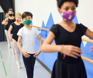 Ballet, hip hop, and other classes are available for kids at City Center Dance in White Plains.