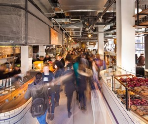 NYC food courts for the parenting win. Photo by Michael Kleinberg for City Kitchen.