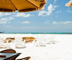 Enjoy the white sands and water sports of Clearwater Beach. Photo courtesy of Visit St. Pete/Clearwater