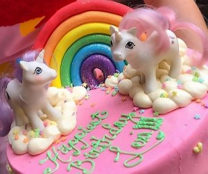Your kid's birthday unicorn dreams can come true with a cake from Clementine Bakery.