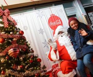 Meet Santa at the Apollo for a memorable family holiday experience. Photo courtesy the Apollo