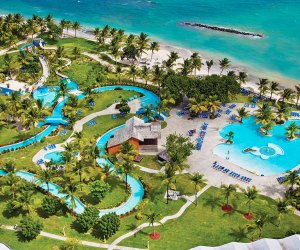 A water park, beach activities, and more await at Coconut Bay's all-inclusive resort in St. Lucia.