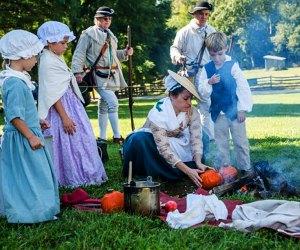 Go back in time at Mount Vernon's Colonial Market & Fair. Photo courtesy of mountvernon.org