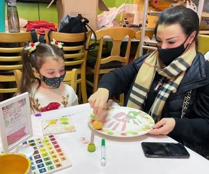 Have a momy-and-me day at Color me Mine in Summit or Ridgewood.