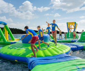 Lacey will purchase the inflatables from Commercial Recreation Specialists in Verona, Wisconsin. Photo courtesy of Commercial Recreation Specialists