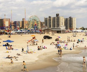 A  day at Coney Island is one of the easiest beach trips for New Yorkers. Photo by Brittany Petronella