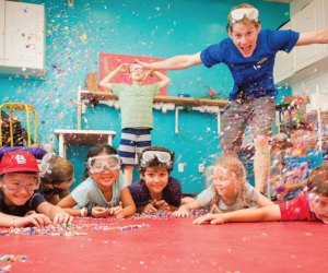 LINX science camps mix some silly fun into learning. Photo courtesy of LINX