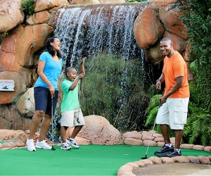 Putter around at Congo River Mini Golf...just watch the waterfall. Photo courtesy of Experience Kissimmee