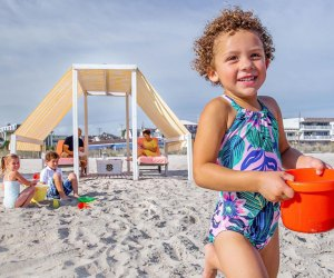 Enjoy the Cape May beach with extra amenities during a stay at Congress Hall. Photo courtesy the hotel