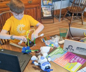 Camp Invention Connect sends campers boxes packed with materials to spark their STEM skills.
