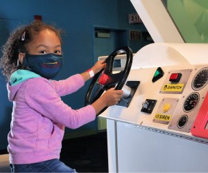 Hands-on features make a museum visit memorable. Photo courtesy of the Connecticut Science Center