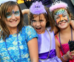 Even kids get into costume at the Renaissance Faire in Lebanon. Photo courtesy of the event