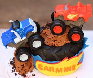 Conti's Pastry Shoppe monster truck birthday cakes